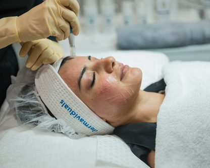CIT Rolling to reduce wrinkles and scars